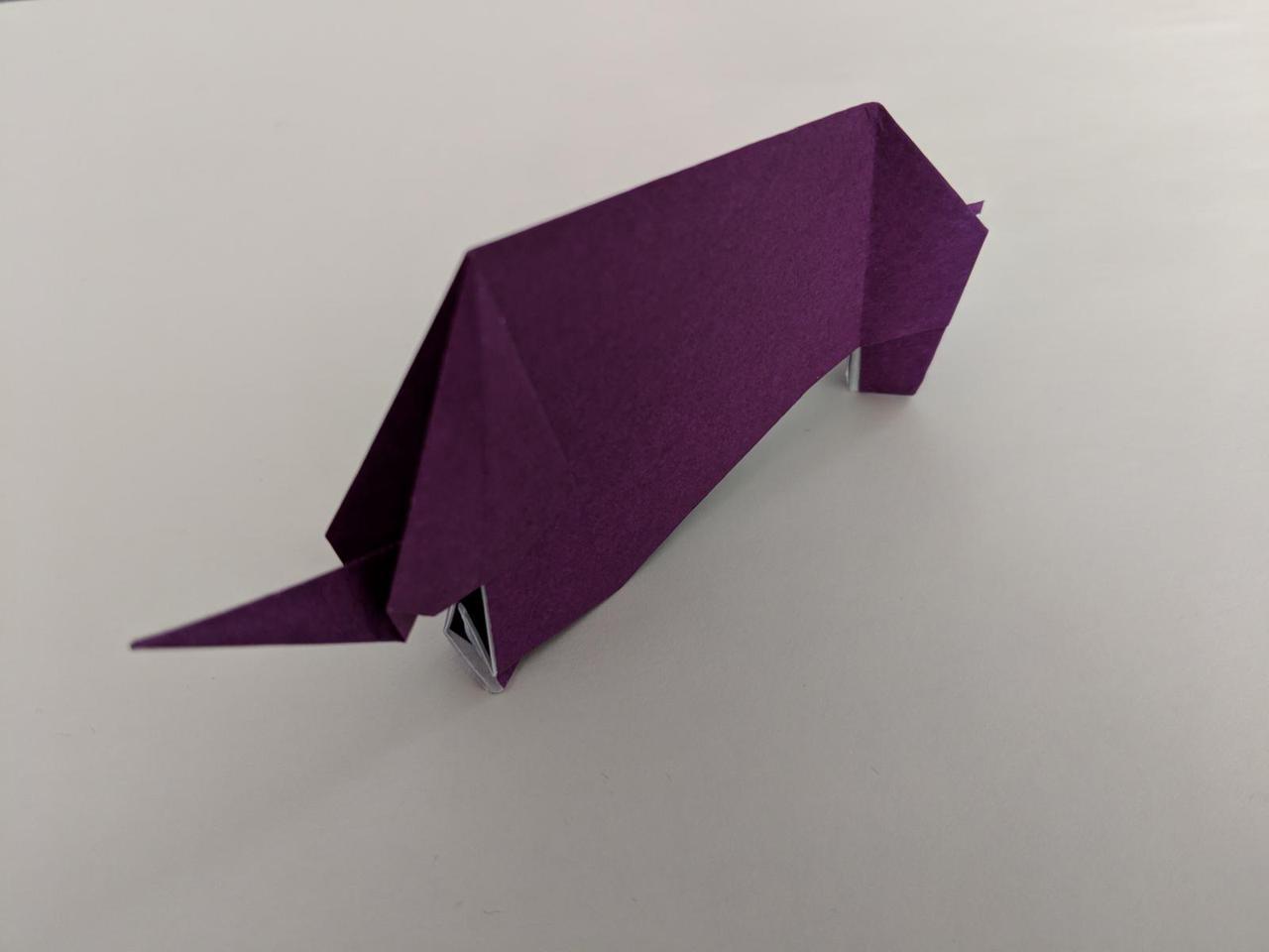 Origami elephant ixora origami elephant jeuxipadfo Choice Image