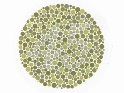 circle of colored dots, with the number 45 visible in the center.
